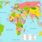 World Maps | Maps Of All Countries, Cities And Regions Of The World   World Map With Cities Printable