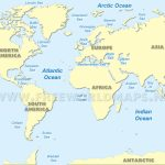 World Ocean Maps   World Ocean Map Printable