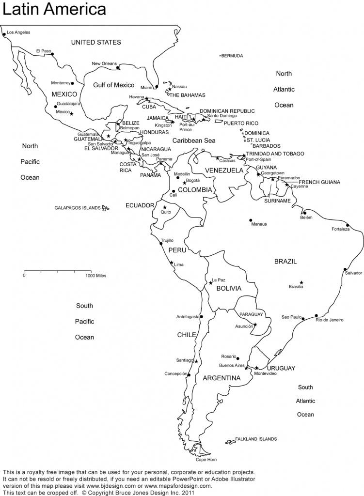 World Regional Printable, Blank Maps • Royalty Free, Jpg - Printable Blank Caribbean Map