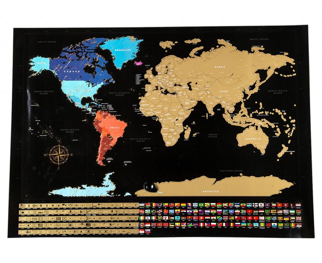 World Scratch Map - Black | Catch.au - Florida Scratch Off Map