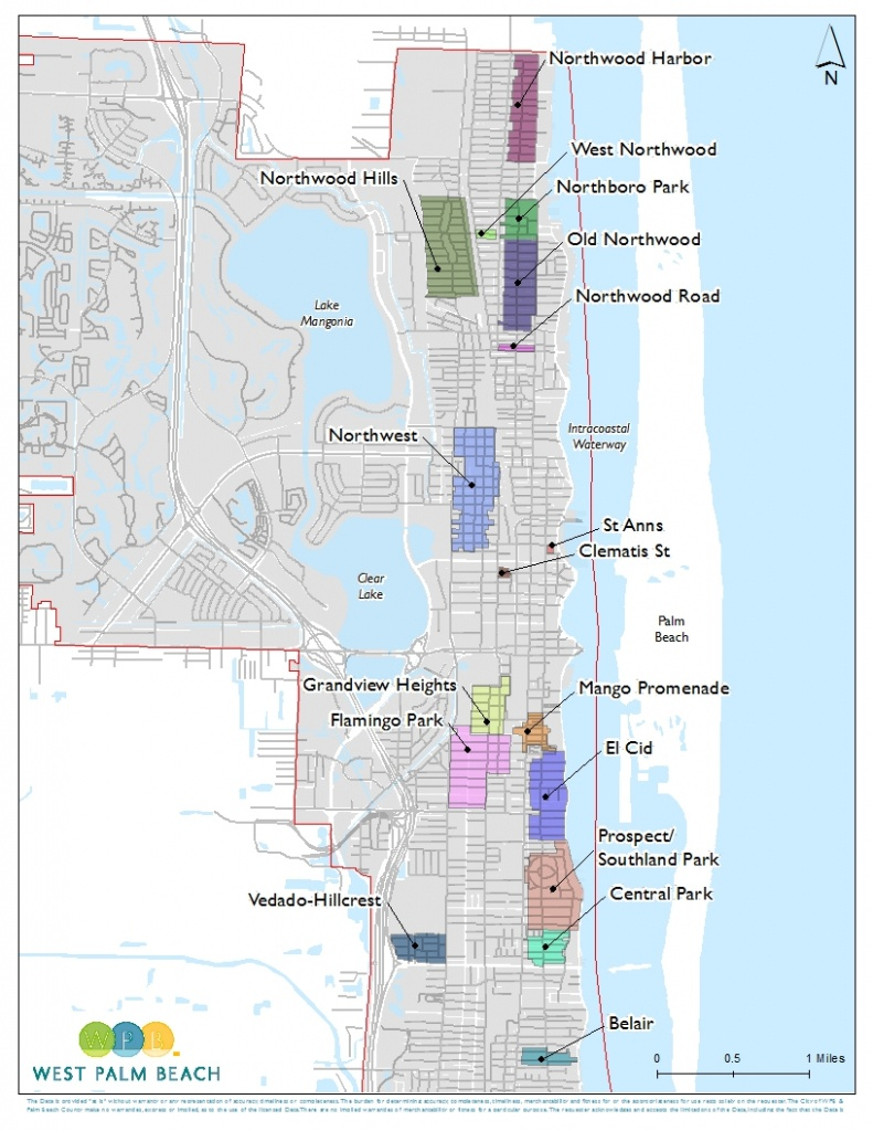 Wpb | City Of West Palm Beach Development Services - Map Of West Palm Beach Florida Showing City Limits