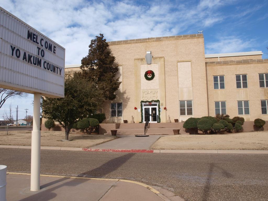 Yoakum County, Texas - Wikipedia - Yoakum County Texas Map