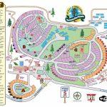 Yosemite Pines Rv Resort And Family Lodging Map   California Rv Resorts Map