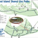 Your Guide To Sanibel Biking   Street Map Of Sanibel Island Florida