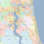 Zip Code Map Jacksonville Florida | Jacksonville Zip Codes   Fleming Island Florida Map