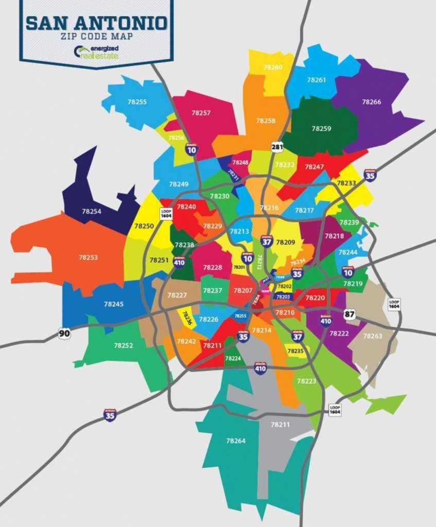 Zip Code Map San Antonio - San Antonio Tx Zip Code Map (Texas - Usa) - San Antonio Zip Code Map Printable